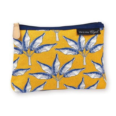 Gorgeous screen printed tropical palm tree theme make up pouch, all sent for the sunnier months ahead with this gorgeous pouch by Atomic Soda
