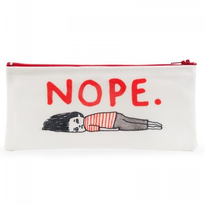nope, pencil case, gemma correll, ohh deer