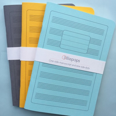 olliepops nusic notation notebooks