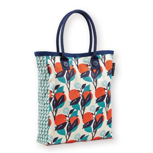 Gorgeous screen printed orange tree theme Tote Bag, all sent for the sunnier months ahead with this gorgeous tote by Atomic Soda