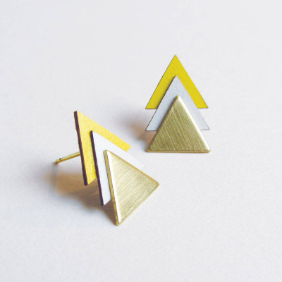 original_brass-yellow-triangle-earrings
