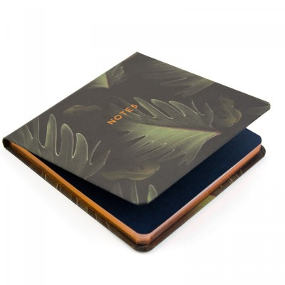 dark palm leaf, susan castillo, notepad, jotter, notebook, ohh dee