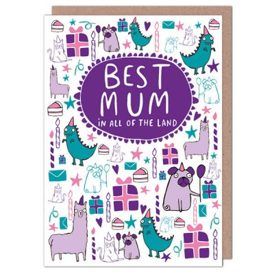 party pugs mothers day card600x600