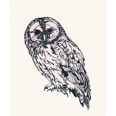 pink owl by susie wright