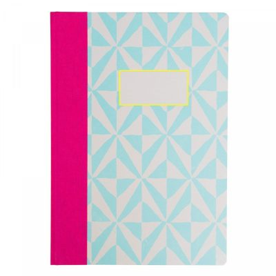 checkerd stamp notebook by Ohh Deer