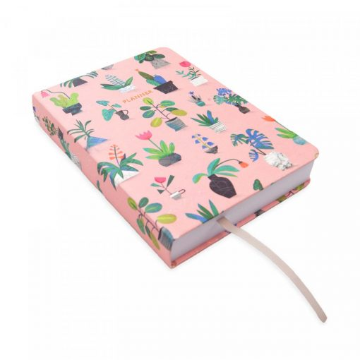 Potted Plant A6 Planner by Natasha Durley