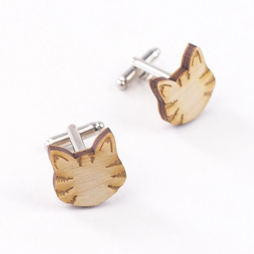 tabby cat, cats, cat brooch, love cats, wooden cat, cat badge, cat brooch, hello sunshine, pets, unique jewellery, cat necklace, cat cufflinks, mens, shirts