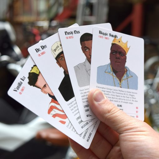 Rapper Trumps - The Top Trumps Card Game full of your favourite 90's Rappers