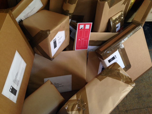 A sleigh load of packages!