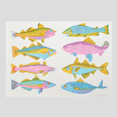 Scottish Fish Risograph by East End Press