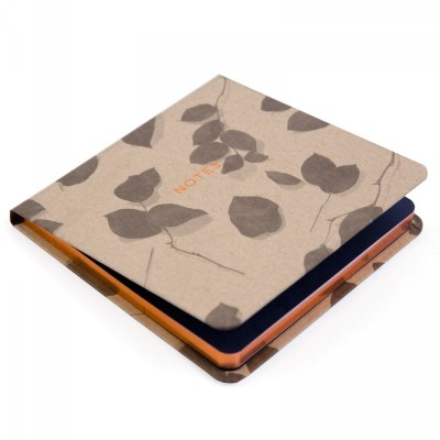 rose leaf jotter, ohh deer, susan castillo, copper foil