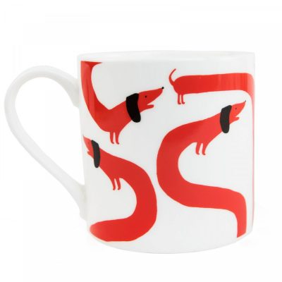 Sausage Dog Mug by Lucie Sheridan for Ohh Deer