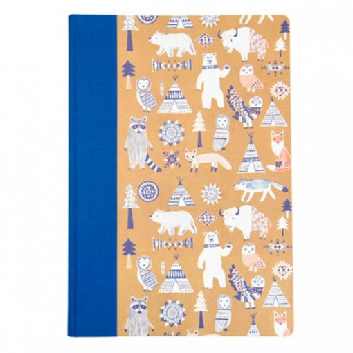 scandi animals notebook, illustrated by Hui Skipp for Ohh Deer