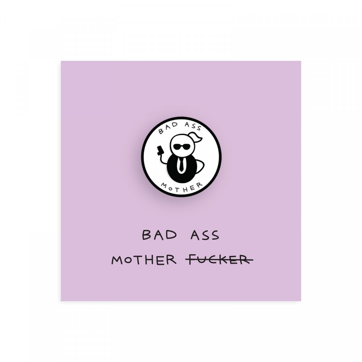 Decorating red door gifts photos : Bad Ass Mother Pin - Gifts Under £10, ▻What's New, Shop By Theme ...