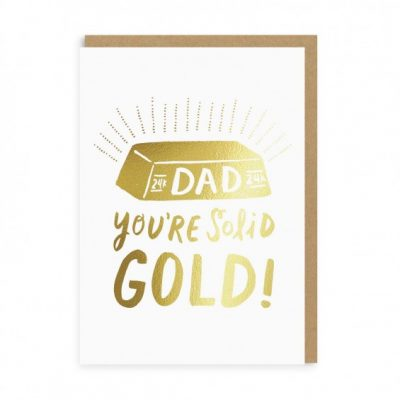 solid gold dad card at the red door gallery