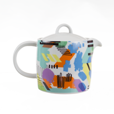 Spal Teapot Abstract Design