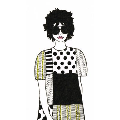 susie print by Lindsey Brown at The Red Door Gallery