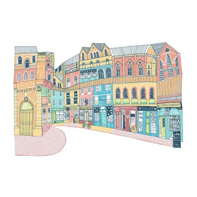victoria street by eilidh muldoon at the red door gallery