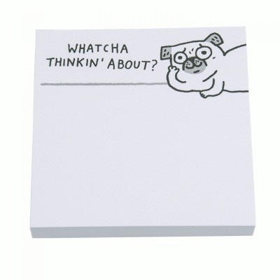 watcha thinkin about post it notes by gemma correll