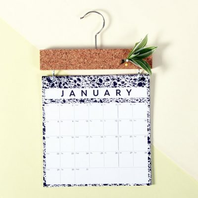 2019 Pinboard Calendar