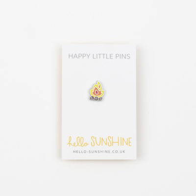 Campfire Enamel Pin by Hello Sunshine