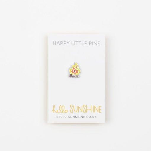 Campfire Enamel Pin by Hello Sunshine