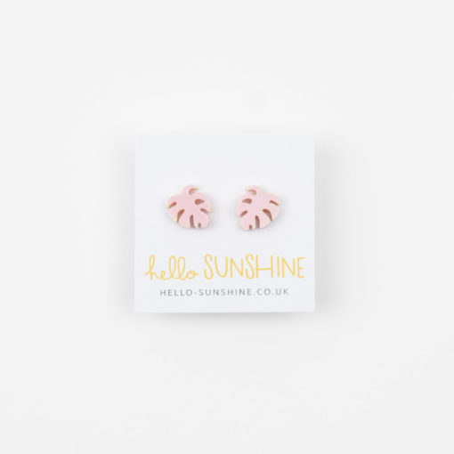 Cheese Plant Earrings by Hello Sunshine