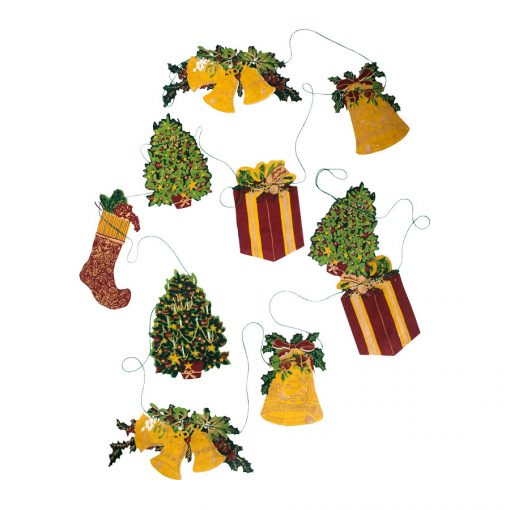 Traditional Christmas Garland by East End Press