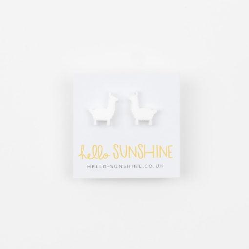 Llama Earrings by Hello Sunshine