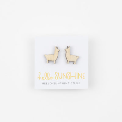 Llama Earrings by Hello Sunshine