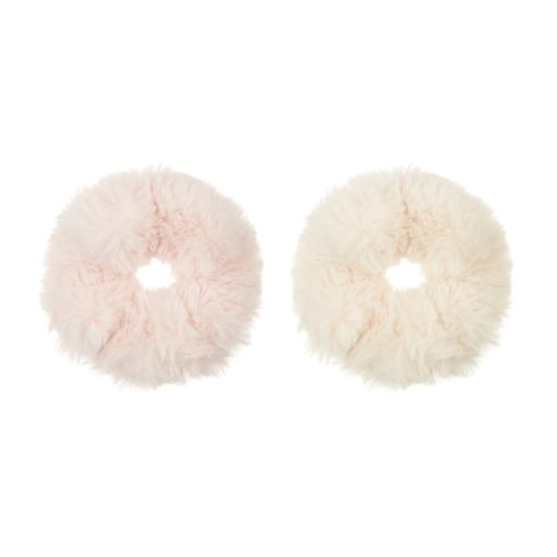 Fluffy Hair Scrunchies by Mimi And Lula