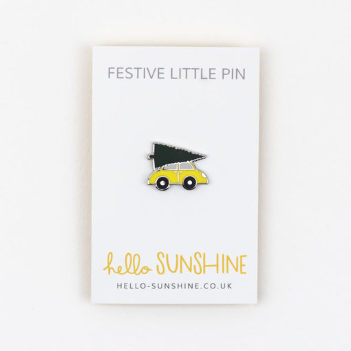 Christmas Tree Car Pin by Hello Sunshine