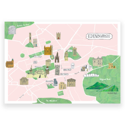 Kaitlin Mechan Edinburgh Map