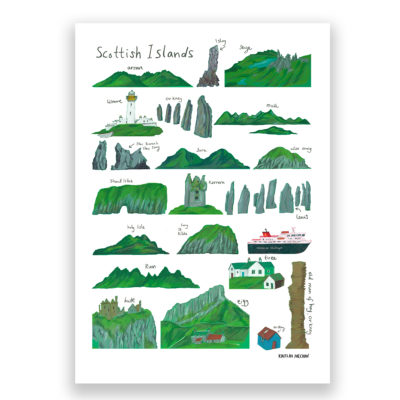 Kaitlin Mechan Scottish Isles Print