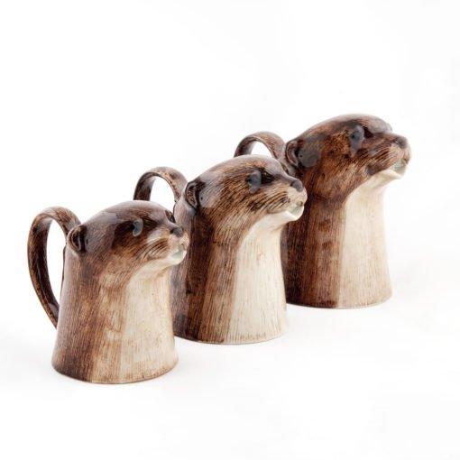 Otter Jug by Quail Ceramics
