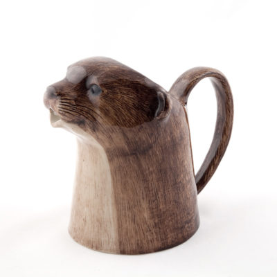 Otter Jug by Quail Ceramics
