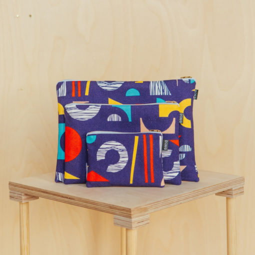 Shape Pouches by Ding Ding