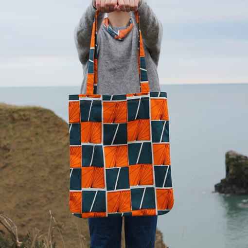 Signals Tote Bag by Paper Houses Design