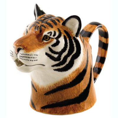 Tiger Jug by Quail Ceramics