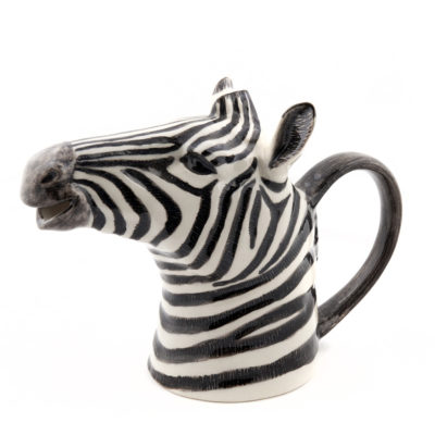 Zebra Jug by Quail Ceramics