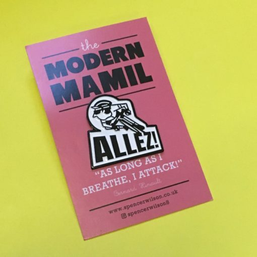 Allez Enamel Pin by Spencer Wilson