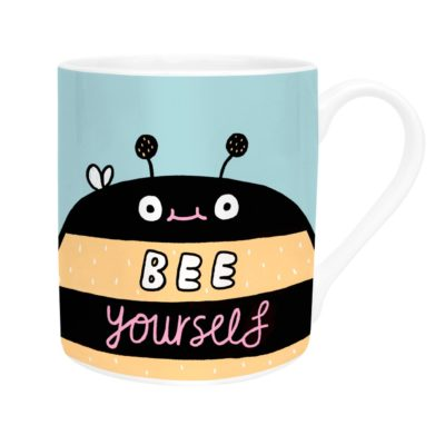 Be Yourself Mug by Gemma Correll for Ohh Deer