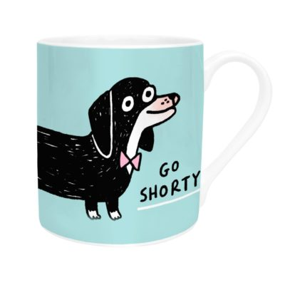 Go Shorty Mug by Gemma Correll for Ohh Deer