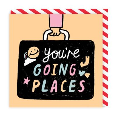 Going Places Card by Gemma Correll