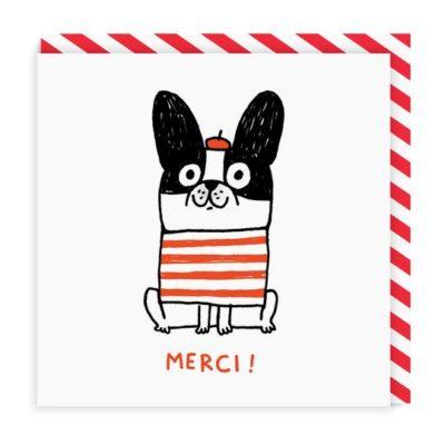 Merci Card by Gemma Correll