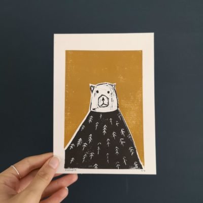 Gold Bear By Molly Newport