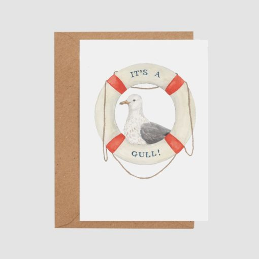 It's A Gull Card By Mister Peebles