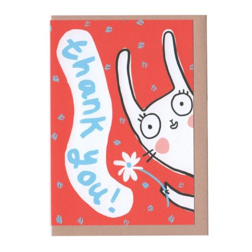 Thank you Rabbit Card by Sarah Ray