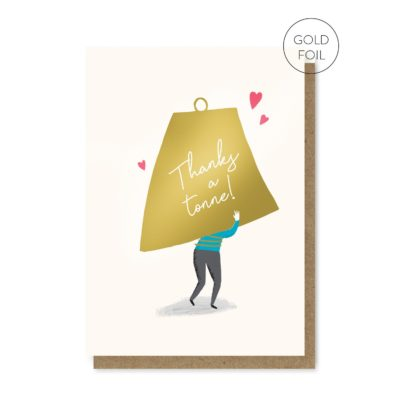 Thanks A Tonne Card by Stormy Knight