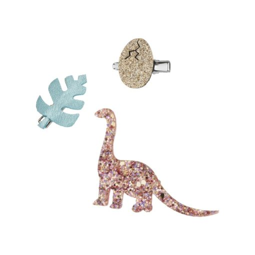 Dino Clip Set by Mimi And Lula